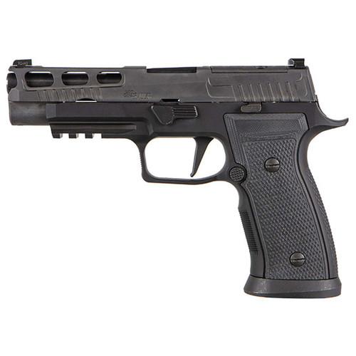 "SIG P320 9mm X-Series, 4.7"" Barrel, Black, Striker, X-Ray 3, AXG Mod Grip, Pro-Cut, Magwell, 2x10rd Mags"