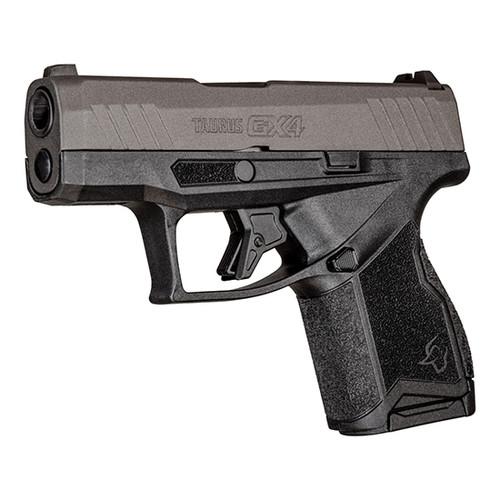 "Taurus GX4 9mm, 3"" Barrel, Fixed Sights, Tungsten Slide, Black, 11rd"