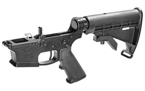 KE Arms KE-9 Complete Lower, 6-Pos Stock, Glock Mags, Black