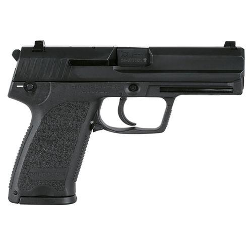 """HK USP V1 9mm, 4.25"""" Barrel, Decocker, Night Sights, Black, 10rd"""