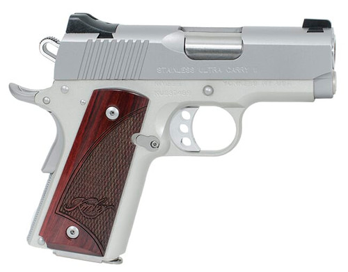 """Kimber Stainless Ultra Carry II .45 ACP, 3"""" Barrel, Satin Silver, 7rd"""