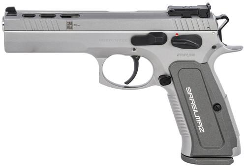 """SAR USA K12 Sport X 9mm, 4.7"""" Barrel, Steel Frame/Slide, Target Sights, SS, 17rd"""