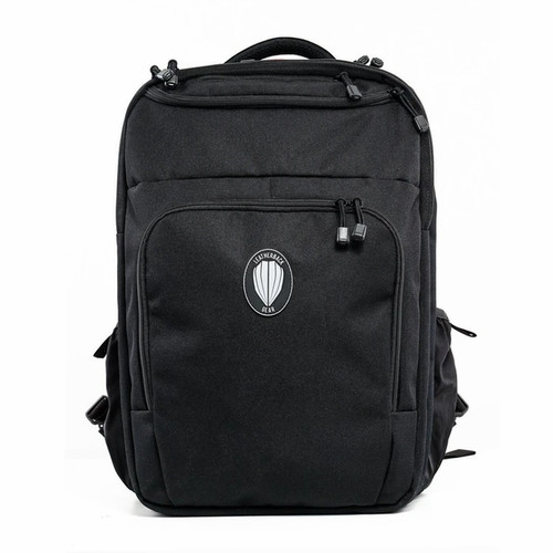 Leatherback Gear Civilian One Backpack, Includes 2x Level IIIA Soft Armor Panel Inserts, Black