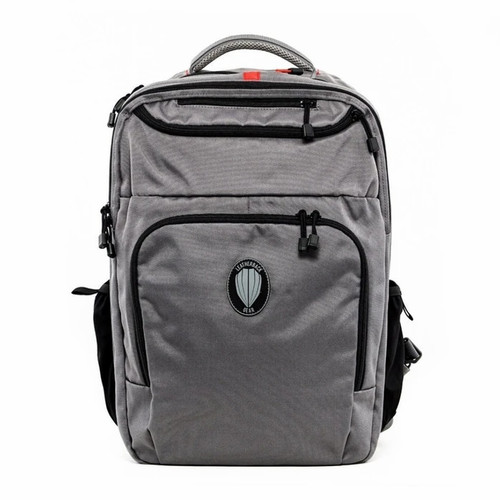 Leatherback Gear Civilian One Backpack, Includes 2x Level IIIA Soft Armor Panel Inserts, Wolf Grey