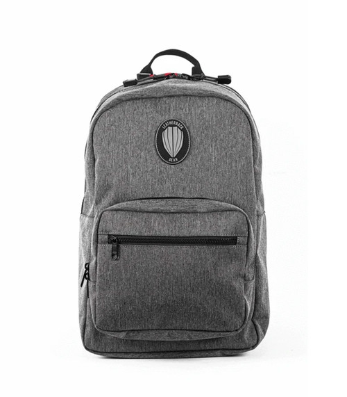 Leatherback Gear Sport One Backpack, Includes 2x Level IIIA Soft Armor Panel Inserts, Heather Grey