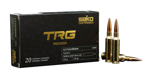 Sako TRG Precision 6.5 Creedmoor, 136gr, HPBT, 20rd
