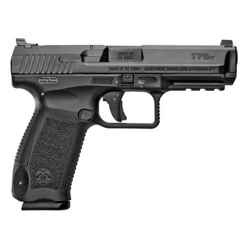 """Canik TP9SF 9mm, 4.46"""" Barrel, Warren Tactical Sights, Black, 18rd"""
