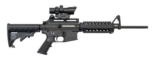 Bushmaster Carbon-15 Used .22 LR, Barska Optic, Black, 10rd/25rd Mags