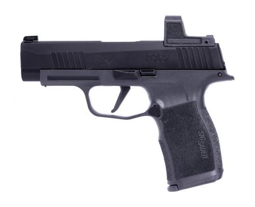 "Sig Sauer P365XL 9mm, 3.7"" Barrel, Night Sights & Romeo Zero, Black & Grey Frames, 12rd"