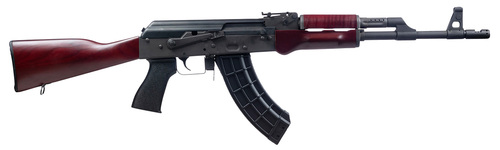 "Century VSKA 7.62x39mm, 16.25"" Barrel, Chevron Comp, Russian Red, 30rd"