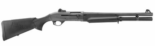 "Benelli M2 12 Ga. 18.5"" Barrel, 3"", Ghost Ring Sights, ComforTech Stock, Black, 7rd"