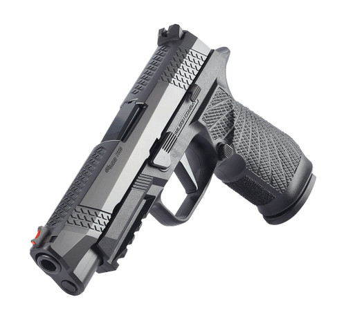 """Wilson Combat WCP320 Carry 9mm, 3.9"""" Barrel, FO Front, NTS, Black, 17rd"""