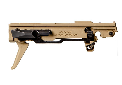 Sig Custom Works P365 Fire Control Unit, Titanium Nitride Frame & Trigger, Gold