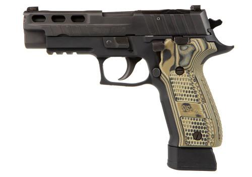 """Sig P226 PRO-CUT 9mm, 4.4"""" Barrel, X-Ray3, G10 Muscus, Black, 15rd/20rd"""