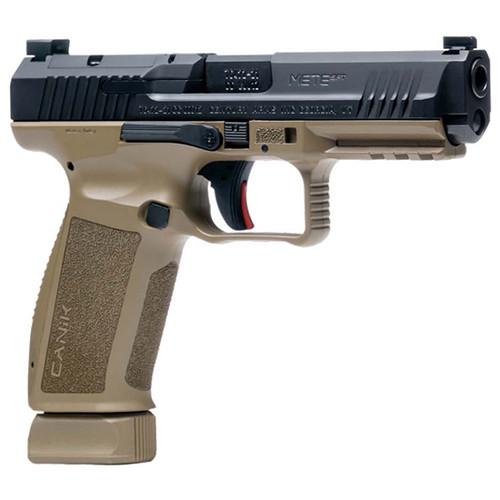 "Canik MeteSFT 9mm, 4.4"" Barrel, Optics Ready, FDE/Black, 20rd"