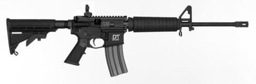 """Del-Ton DT Sport Mod 2 5.56/.223, 16"""" Barrel, A2 Furniture, Black, 30rd"""