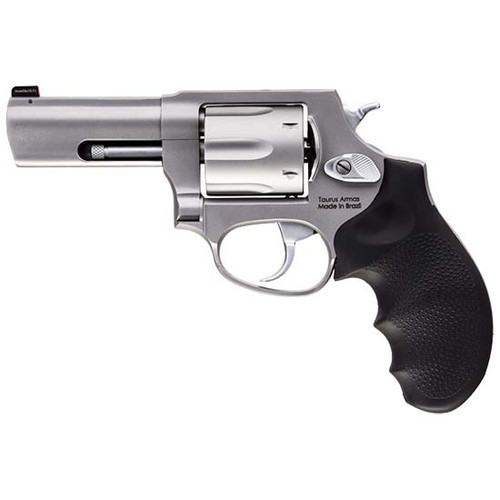 "Taurus 856 Defender .38 Special +P, 3.5"" Barrel, SS, Hogue Rubber Grip, 6rd"