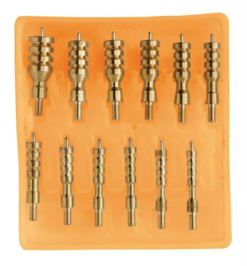 Hoppe's Deluxe 13 Piece Brass Jag Kit