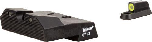 Trijicon HD XR Night Sight Set  Yellow for CZ P-10/P-10C