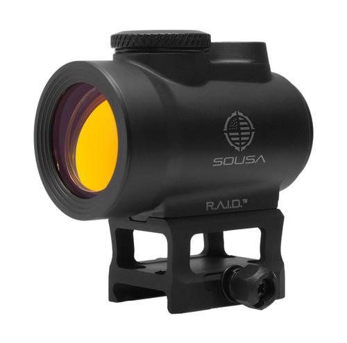 SOUSA R.A.I.D. Red Dot, 30mm Objective, 2 MOA Dot, Black