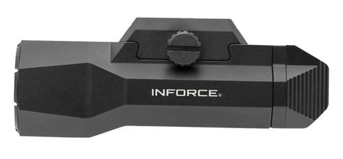 """Inforce Wild 2 Pistol Light, 3.5"""" Length, White LED, 1000 Lumens, CR123A, Black"""