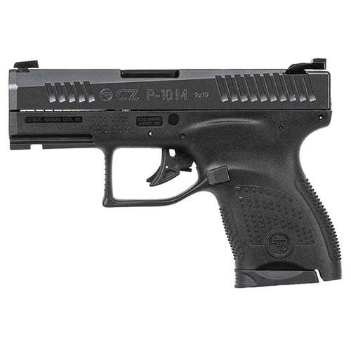 """CZ P-10 M 9mm, 3.19"""" Barrel, Three-Dot Sights, Black, 7rd"""