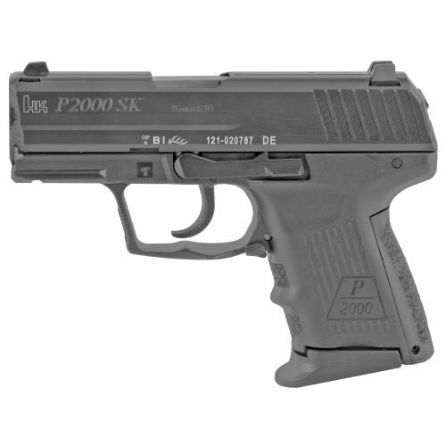 """HK P2000SK V2 LEM 9mm, 3.26"""" Barrel, 3-Dot Sights, Black, 10rd"""