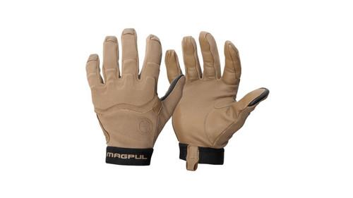 Magpul Patrol Glove 2.0, Nylon Leather Palms, Coyote, 2XL