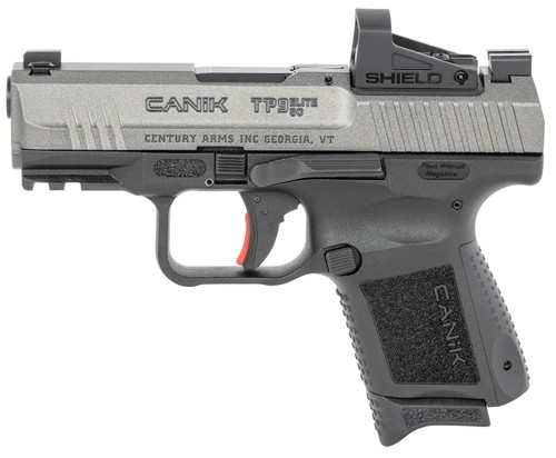 "Century Canik TP9SC Elite 9mm, 3.6"" Barrel, SMS2 RDS, Tungsten Grey, 12rd"