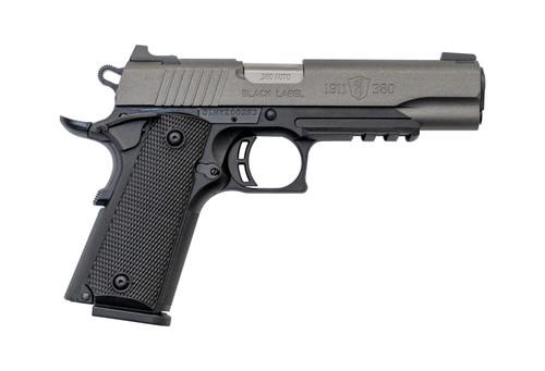 "Browning 1911-380 Black Label Pro .380 ACP, 4.25"" Barrel, FS, Tungsten, 8rd"