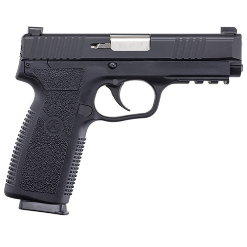 """Kahr Arms, TP-2, Semi-automatic, 9mm, 4"""" Barrel, Black Color, Polymer Frame, Blackened Stainless Steel Slide, TruGlo Night Sights, 8Rd, 2 Magazines"""