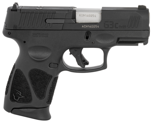 "Taurus G3c *MA Compliant 9mm 3.20"" 10+1 (3) Black Frame Matte Black Tenifer Steel Slide Black Polymer Grip"