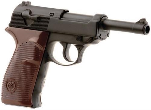 Crosman Luger Air Pistol Semi-Auto .177 BB, CO2, Black