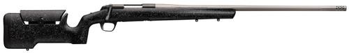 """Browning X-Bolt Max Long Range 300 PRC Cap 26"""" MB Matte Black Rec/Barrel Gray Speck Black Fixed Max Adjustable Comb Stock Right Hand (Full Size) 3+1rd"""