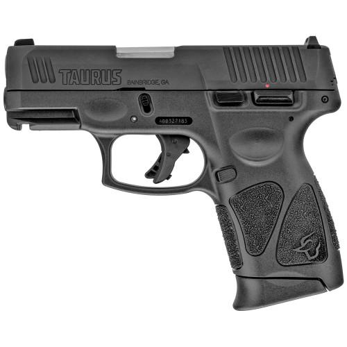"""Taurus G3c 9mm, 3.26"""" Barrel, Adj. Rear, Black, 3x 10rd"""