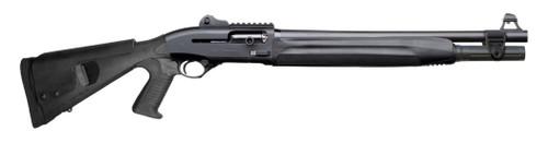 "Beretta 1301 Tactical 12 Ga, 18.7"" Barrel, 3"", Pistol Grip, Ghost Ring Sights, Black, 7rd"