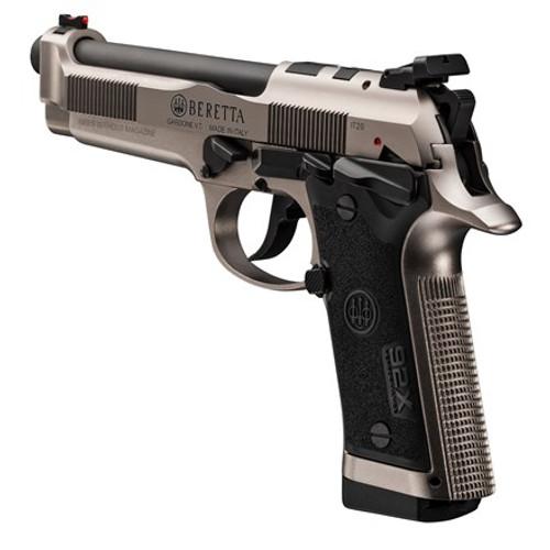 """Beretta 92X Performance Defensive 9mm, 4.9"""" Barrel, FO Front, MTS, Nistan, 10rd"""