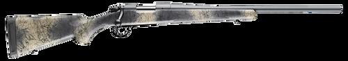 "Bergara Rifles B-14 Hunter Wilderness 308 Win 22"" Sniper Gray Cerakote SoftTouch Woodland Camo Synthetic Stock Right Hand (Full Size) 4+1Rd"