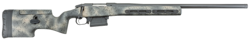"Bergara Rifles Premier Ridgeback Bolt 300 Precision Rifle Cartridge (PRC) 26"" Threaded Barrel,,  Fiberglass Camo Adjustable Cheek Rest Stock Black Cerakote,  5 rd"