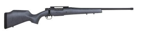 "Mossberg Patriot Long Range Hunter, 6.5 PRC, Matte Blue Polymer Stock, 24"" Threaded And Fluted Barrel, 4rd Mag"