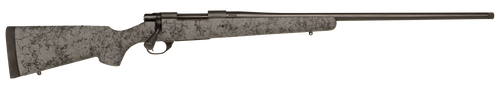 """Howa 1500 6.5 PRC 24"""" TB Black Rec/Barrel Gray with Black Webbing Fixed HS Precision Stock Right Hand (Full Size) 3+1Rd"""
