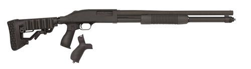 """Mossberg 590 Tactical 12 Ga, 20"""" Barrel, 3"""", Pistol Grip & Stock Combo, Black, 8rd"""
