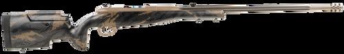 "Weatherby Mark V Accumark Elite 6.5x300 Weatherby Mag  26"" Coyote Tan Elite Cerakote Brown Sponge Pattern Black Fixed Adjustable Cheekpiece Stock Left Hand (Full Size) 3+1Rd"