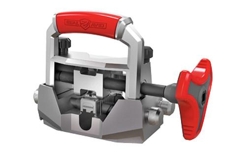 Real Avid Handgun Sight Pusher, Ergonomic Handle, Gray/Red