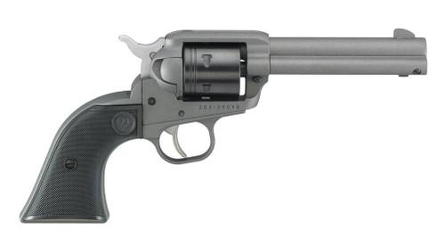 """Ruger Wrangler .22 LR, 4.6"""" Barrel, Fixed Sights, Tungsten, 6rd"""