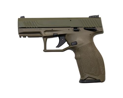 "Taurus TX22 .22 LR, 4"" Barrel, Fixed Sights, Thumb Safety, OD Green, 16rd"
