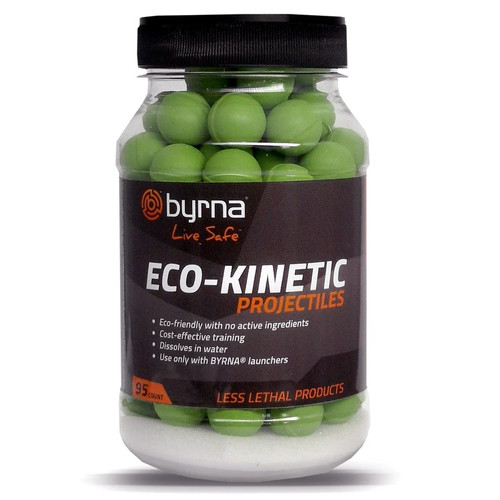 Byrna Eco-Kinetic Training/Recreational Projectiles, 95 Count