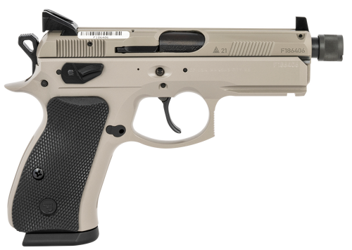 CZ 75 P-01 9mm, Urban Grey Suppressor Ready, 15rd
