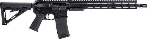 """DRD Tactical CDR-15 5.56x45mm 16"""" Barrel, Black, Magpul MOE Stock, Black Grip, Hard Case, 2x30rd"""