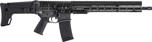 "DRD Tactical Aptus 300 Blackout 16"" Barrel, Black, Folding Adjustable Stock, Black Grip, Hard Case, 2x30rd"